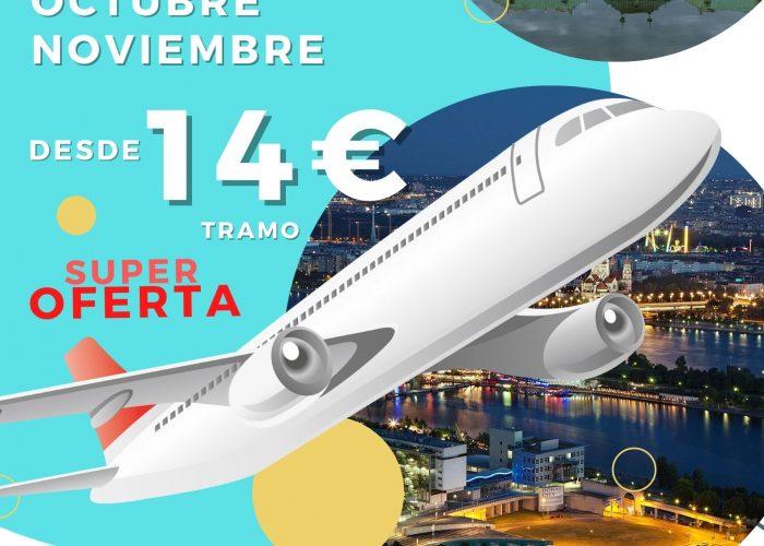 vuelos a viena septiembre octubre noviembre